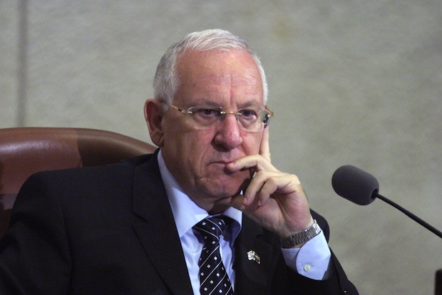 Former Knesset Speaker Reuven Rivlin, the highest-ranking Israeli public official to endorse the one-state solution ( (Jstreet CC BY NC SA 2.0)