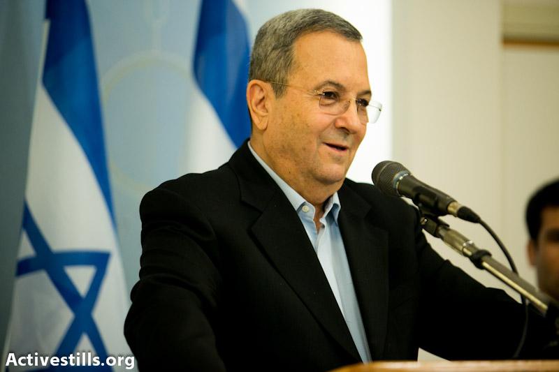 Ehud Barak (photo: Yotam Ronen / Activestills.org)