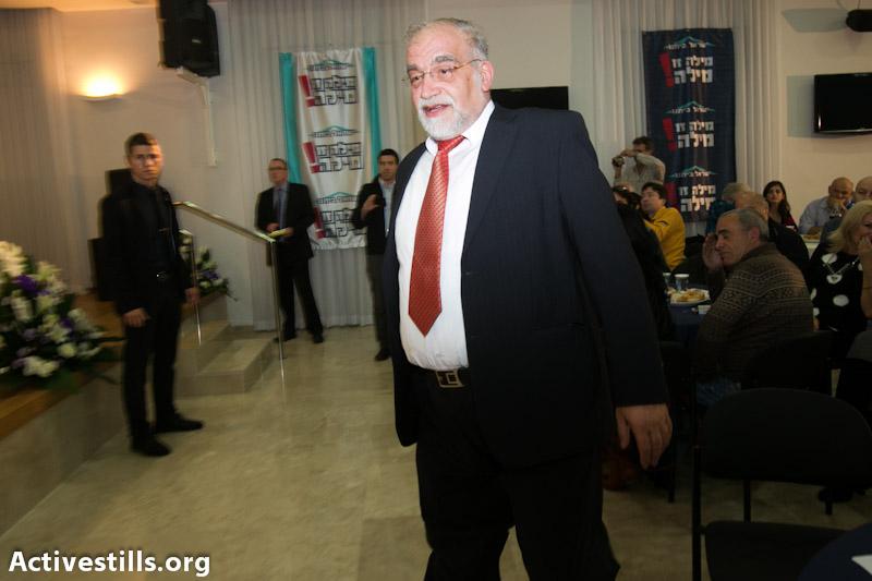 MK David Rotem (Photo: Yotam Ronene / activestills.org)