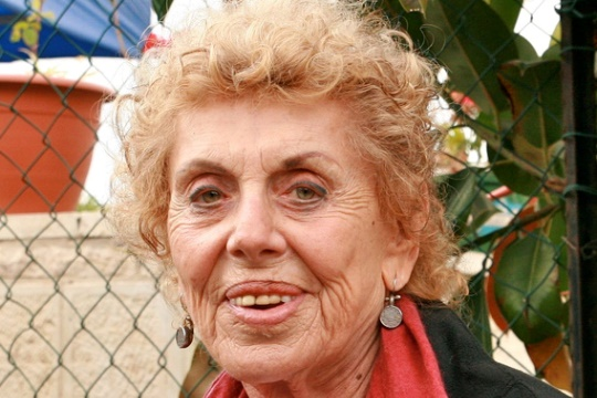 Shulamit Aloni, former Meretz leader, 1924-2014 (photo: Lisa Goldman)