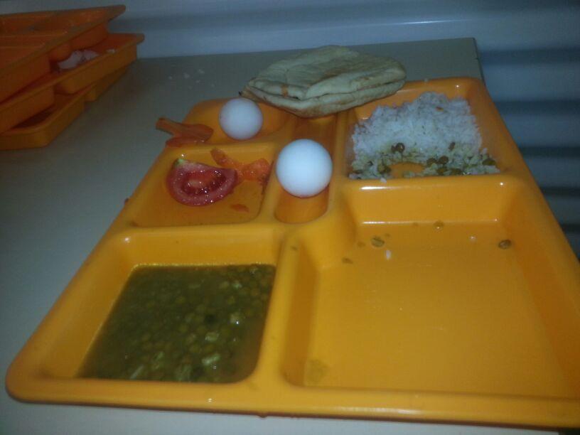 Dinner again. (Ahmad)