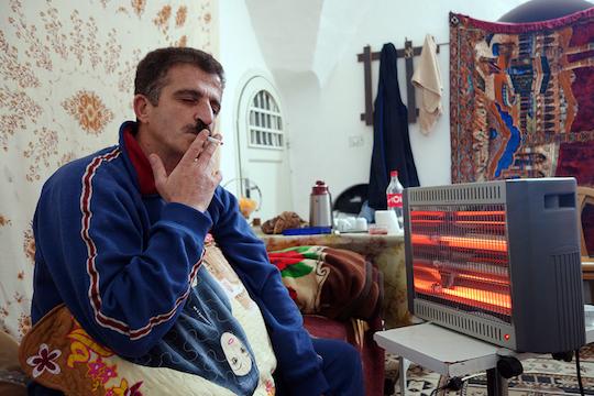 Mufeed Sharhabati. (Photo by Einat Fishbain)