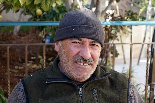 Abed Al-Karim Jaabari. (Photo by Einat Fishbain)
