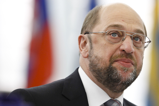 File photo of EU Parliament President Martin Schulz (Photo by EU Parliament)
