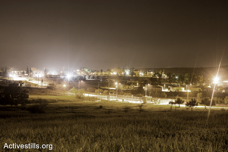A view on the Jewish village of Shumeria, Negev, Israel.