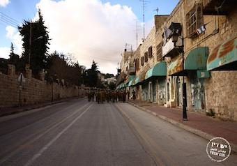 Shuhada Street in Hebron (Photo by Yossi Gurvitz)
