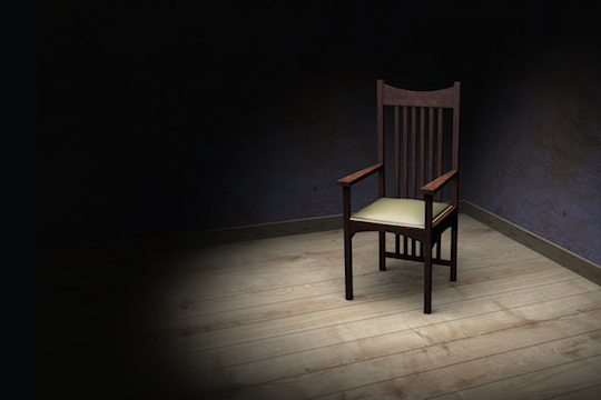 Illustrative photo of an interrogation room (Photo by Shutterstock.com)