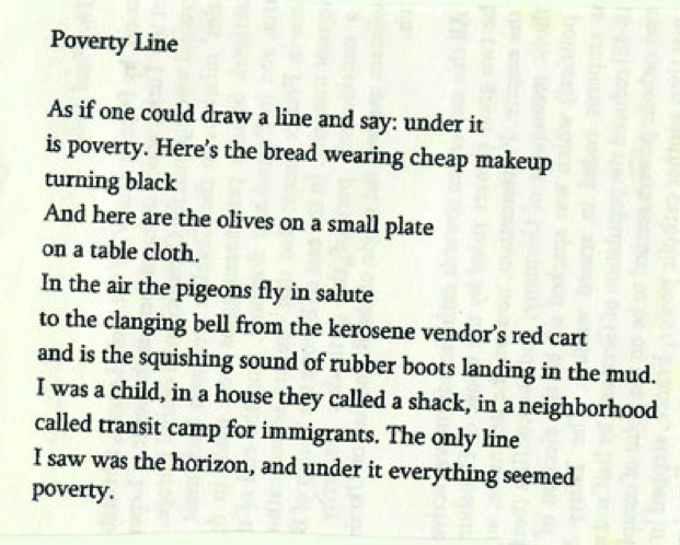 Ronny Someck poem.
