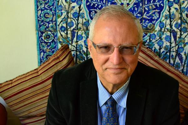 Mohammed Dajani Daoudi (Photo: Dahlia Scheindlin, 14 April 2014)