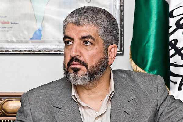 Hamas leader Khaled Meshaal (Photo by Trango/CC)