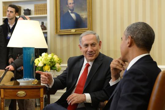 PM Benjamin Netanyahu meets with US President Barack Obama at the White House. (Photo: Avi Ohayon/GPO)