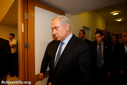 Binyamin Netanyahu. Doing the right thing a month too late and thousands of lives too short (Yotam Ronen / Activestills)
