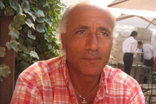Nuclear whistleblower Mordechai Vanunu, Jerusalem 2009 (Eileen Fleming CC BY-3.0)