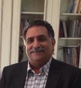 Former MK and Balad chairman Azmi Bishara (Photo: Thumar Almarzouki/CC)