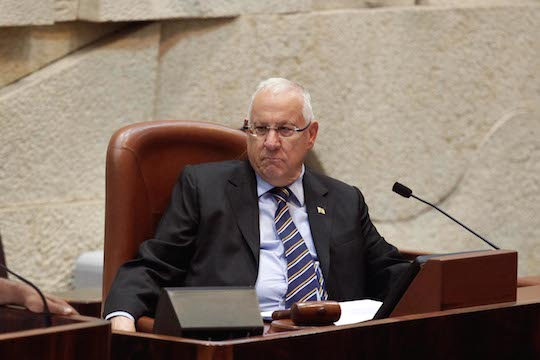 Reuven Rivlin as Speaker, 2011. Photo by J-Street, Flickr.