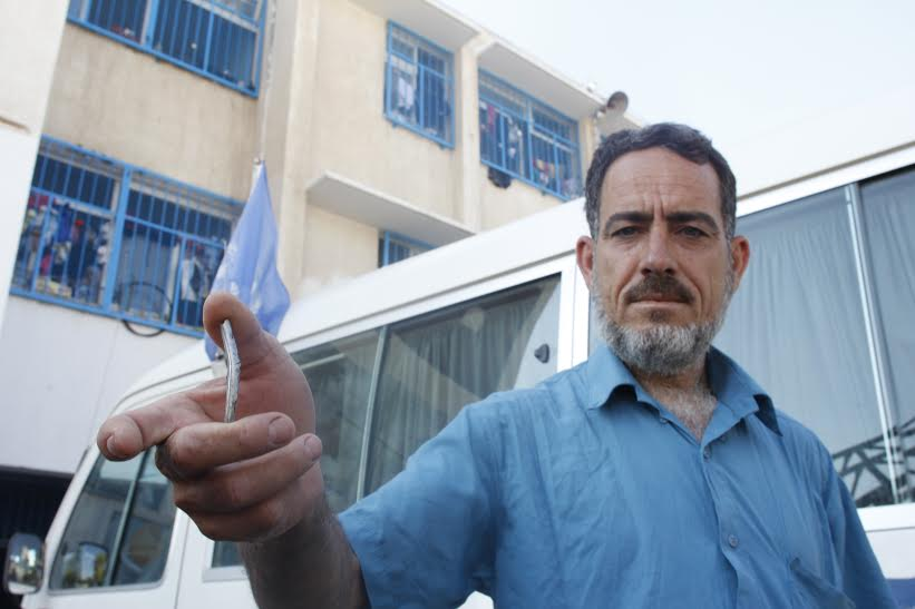 Mohammad Al-Jaafari, 46, attempted to go back to his Rafah neighborhood of Shoka last Friday, but the ceasefire planned for that day ended almost as soon as it began, and he had to turn back before he could survey the damage to his home.