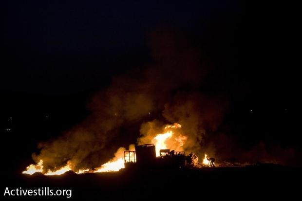 El-Arakib \ In a few hours, an entire village is destroyed