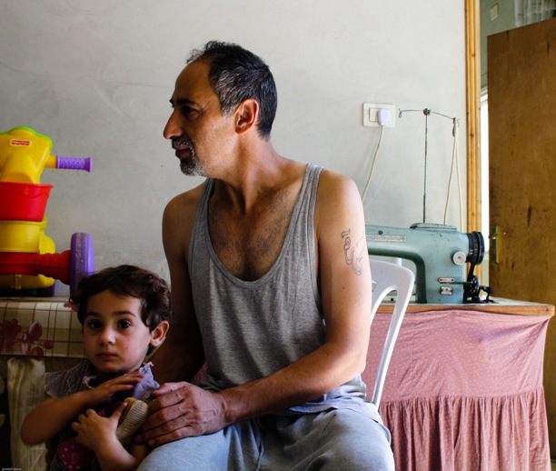 Yusri Jaber and his family have faced numerous attacks by Israeli settlers in Hebron.