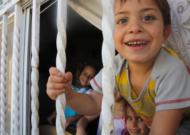 Children in Nabi Salih. Photo by Joseph Dana.