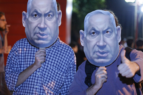 Which Bibi should we believe? The one who talks peace, or the one who builds in the West Bank? (Photo: Flickr / Yarden Sachs)