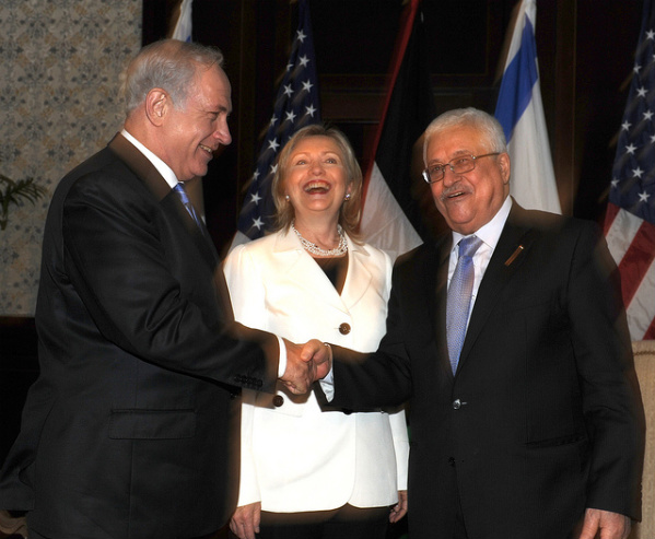 Remember when we used to laugh? (Photo: Israel Foreign Ministry)