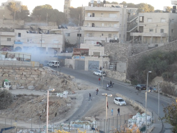 Issawiya, a Jerusalem neighborhood behind concrete barricades