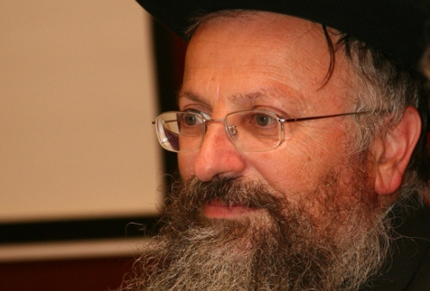 Shmuel Eliyahu, Rabbi of Safed (photo: Kennes Kipa / flickr)