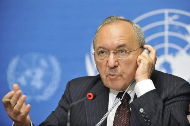 Justice Richard Goldstone's report ended up serving as the major evidance in the persecution of Israeli human rights organizations (photo: United Nations Information Service - Geneva)