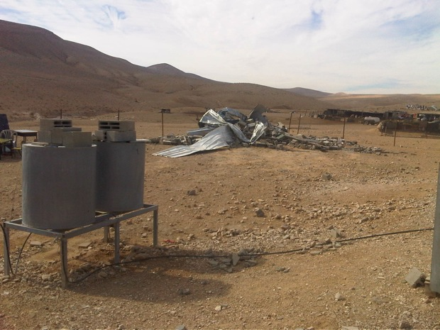 Breaking: School, homes demolished in South Hebron Hills