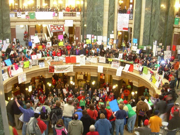 From Madison to Cairo, the people are rising