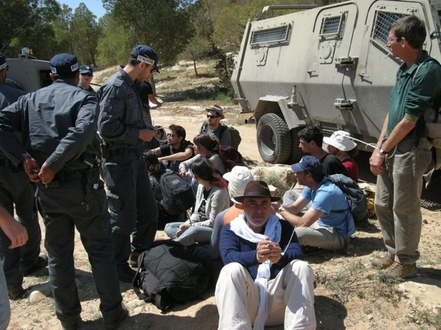 16 Israeli activists unlawfully arrested in South Hebron Hills