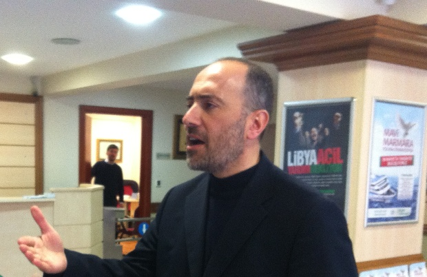 IHH's deputy chairman, Huseyin Oruc (photo: Roee Ruttenberg)