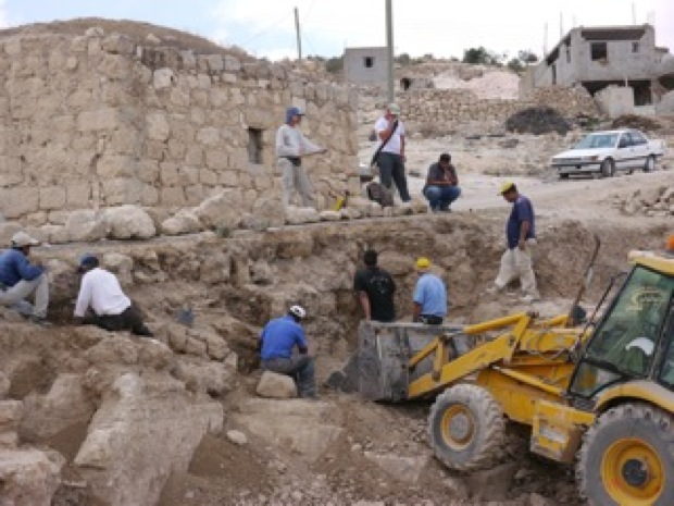 New excavation site in West Bank village has Palestinians on edge