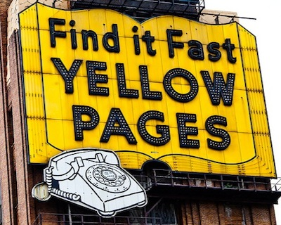 Looking for a business that's Arab-free? Try Yellow Pages!