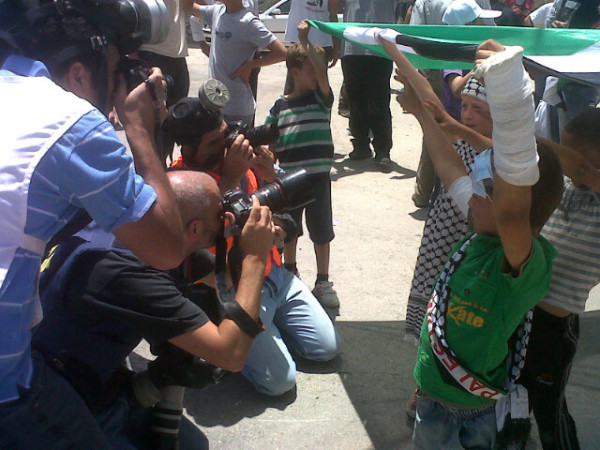 PHOTOS: Protest in Nabi Saleh consumed by tear gas