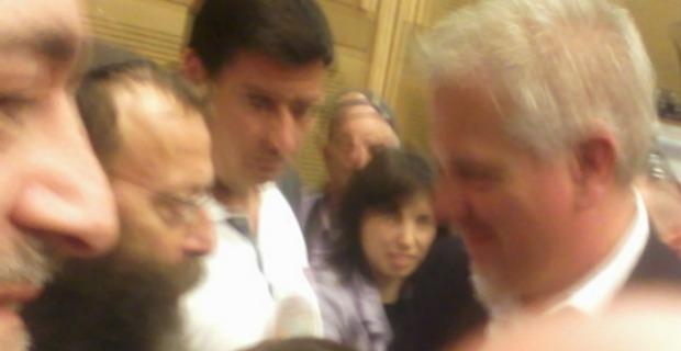 Glenn Beck at Knesset: