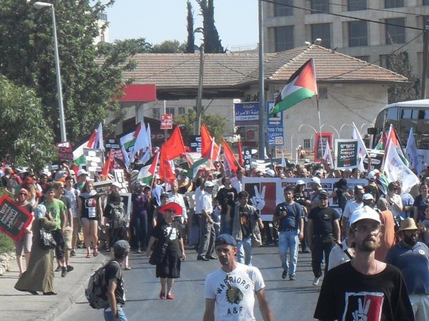 A Palestinian East Jerusalemite's view of the joint march