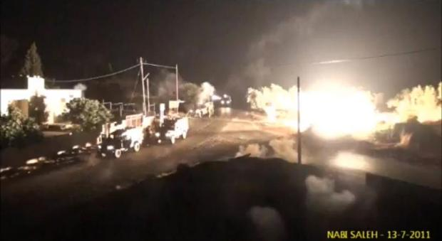 Watch: IDF terrorizes a Palestinian village
