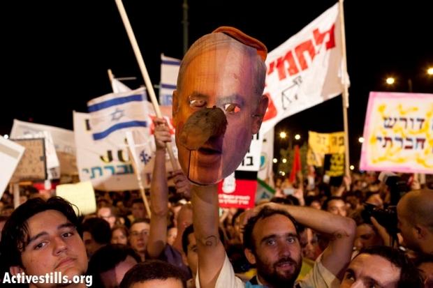 Photos: 100,000 demonstrate across Israel's periphery