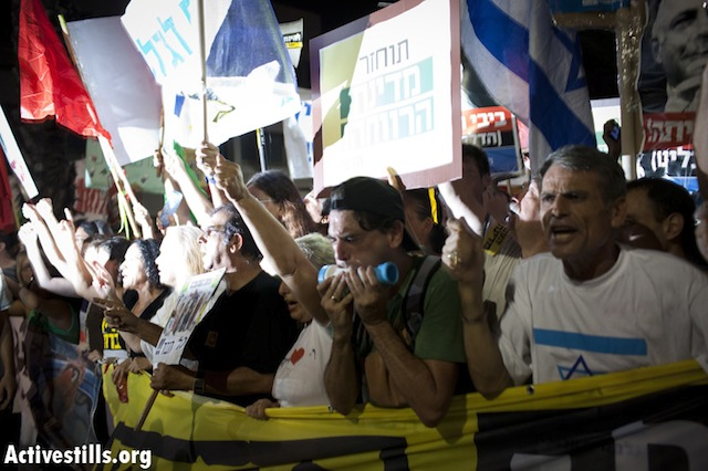 """The welfare state will return"" Tel Avi- Tel Aviv, August 6 (photo: ActiveStills)"
