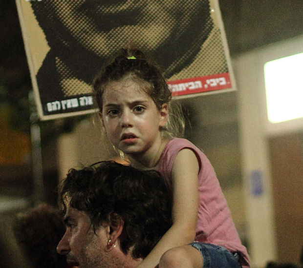 Are Israelis real people, or just figures in a morality play? (Photo: Yossi Gurvitz)