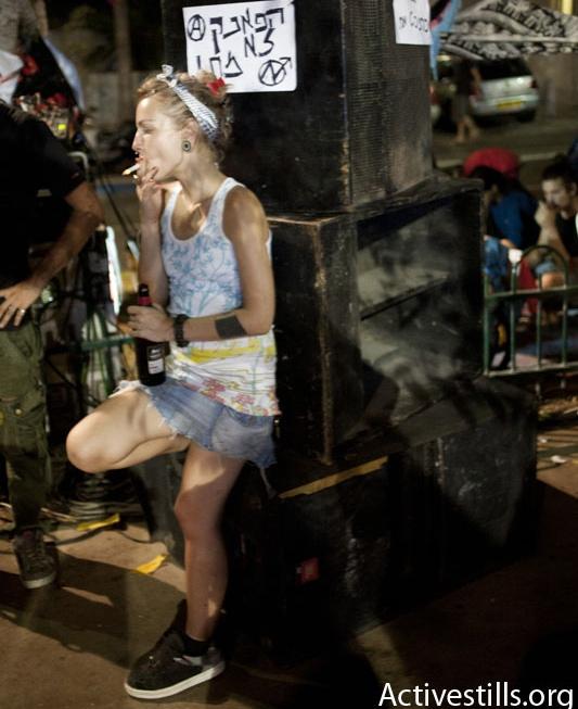 Between euphoria and anarchy: Tel Aviv's revolutionary festival