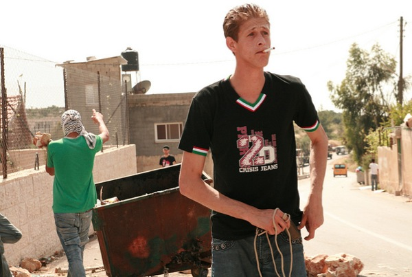I photographed this Nabi Saleh boy in May 2010. I believe he is in jail now
