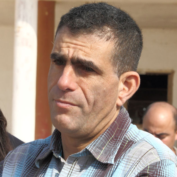 Mossi Raz, who is sure that the closing of the station is part of an assault on the media. (Photo: Yossi Gurvitz)