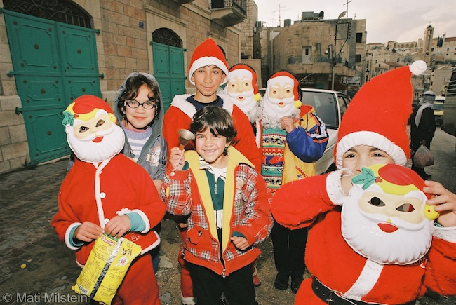 Christmas in the holy land (Photo: Mati Milstein)