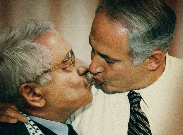 On a cold night in J'lem, Bibi and Abbas finally break the ice