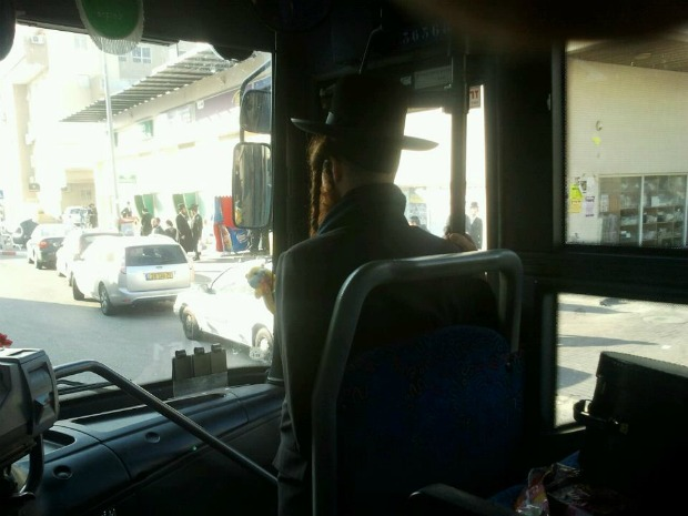 Bus to Jerusalem stopped after woman refuses to move to back