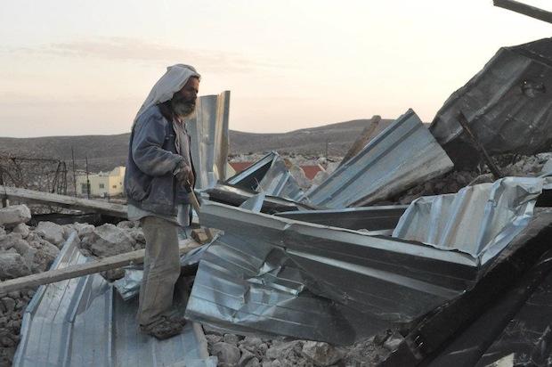 Aftermath (Photo: Guy Hircefeld, Ta'ayush)