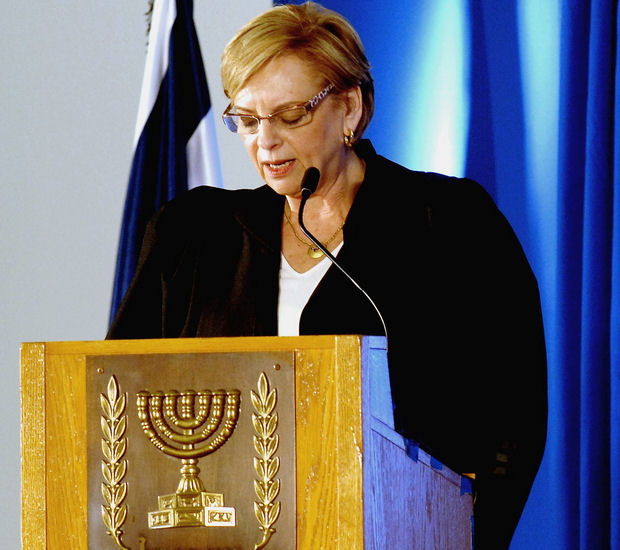 Retiring Supreme Court President Dorit Beinish (Photo: government press office, CC BY-NC-SA 2.0)