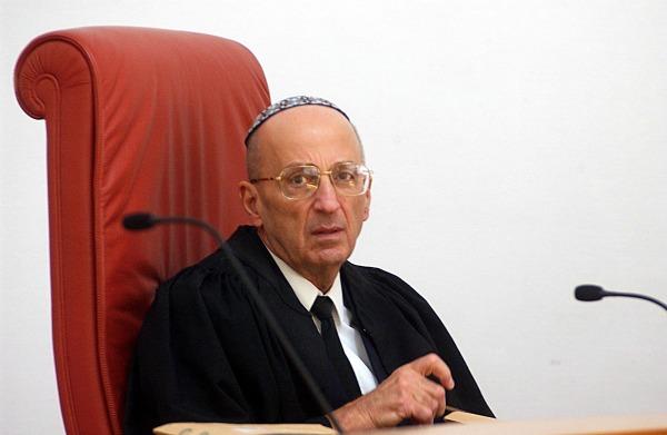 Justice Edmond Levy (Photo: Eyal Warshavsky)